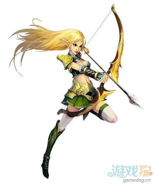 Android网游《龙之国度》女神:精灵弓箭手