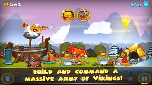 《剑与勇士》(Swords and Soldiers)游戏画面