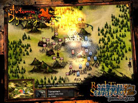 《秋战》(Autumn Dynasty)游戏画面
