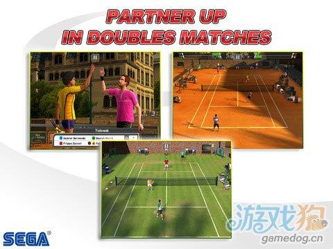 《VR网球》(virtua Tennis Challenge)游戏画面