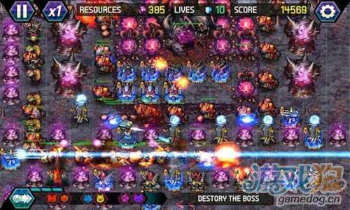 《终极塔防:迷失的地球》(Tower Defense: Lost Earth )游戏画面