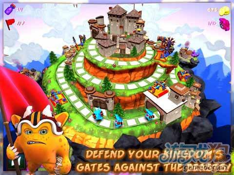 《抵御兽人 HD》(Beat the Beast HD)游戏画面