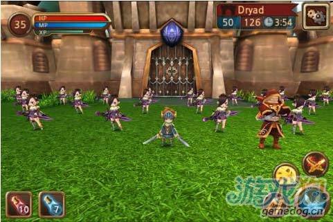 《攻城大师》(castle master 3D)游戏画面