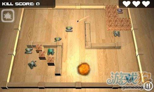 《坦克英雄》(Tank Hero)游戏画面
