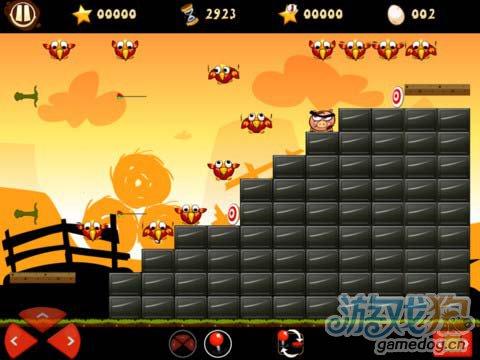 《愤怒的小猪》 (Raging Pigs HD)游戏画面
