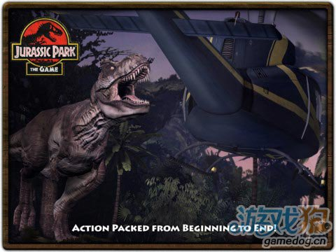 《侏罗纪公园 2 HD》(Jurassic Park: The Game 2 HD)游戏画面