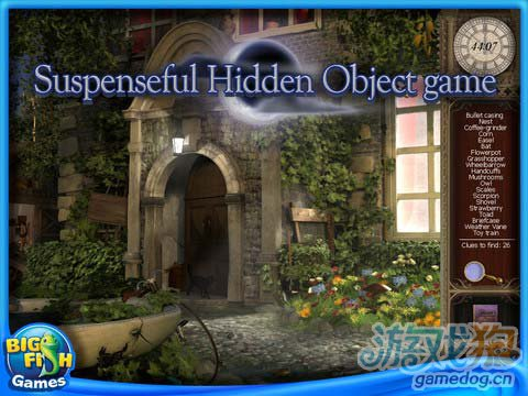 《神秘谋杀》(Mystery Chronicles – Murder Among Friends HD)游戏画面