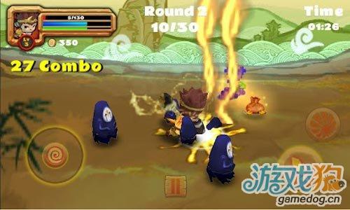 国产安卓3D动作游戏:孙悟空大战群魔 v1.0.4更新