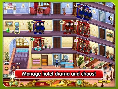 《Hotel Dash》iPad模拟经营类游戏的常青树
