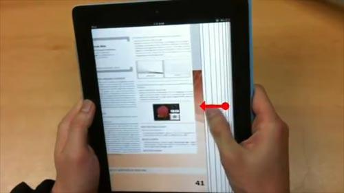超逼真翻页效果电子书UI 那翻的真不是书!