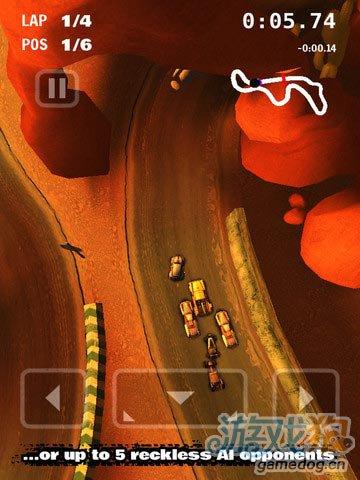 iOS竞速游戏:绝尘飙车 完全不输Asphalt 6之流