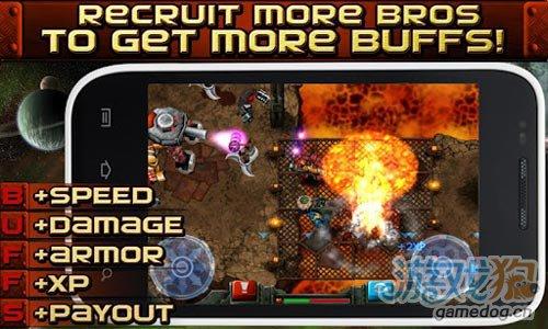 安卓射击游戏:勇猛二兄弟 Gun Bros v3.1.2 更新