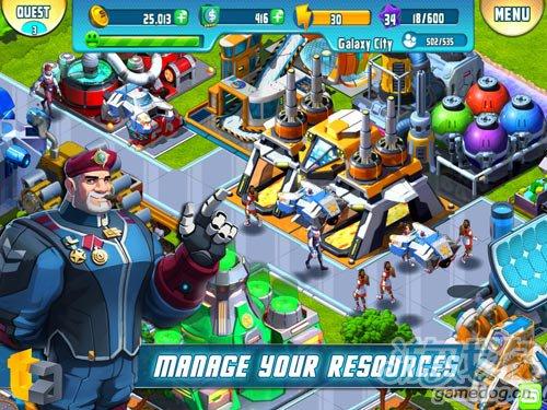策略游戏Cosmic Colony将发布 打造美好家园