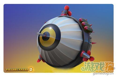 iOS休闲塔防类游戏:Fieldrunners 2人物设计曝光