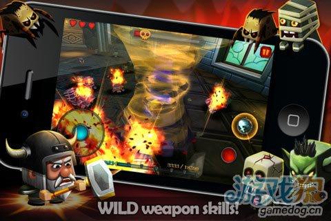 双摇杆格斗游戏推荐 小小传奇-狂战士