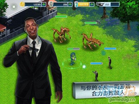 同名电影改编iOS游戏 黑衣人3 v1.0.1更新