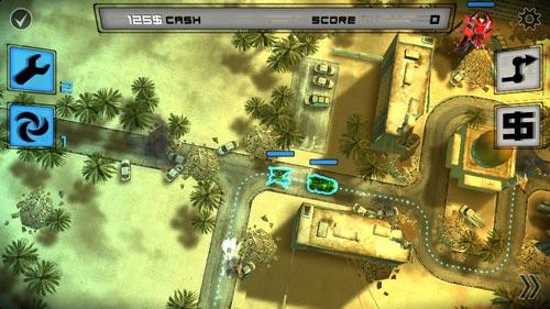 安卓策略塔防游戏:异形地球战区高清版新手入门