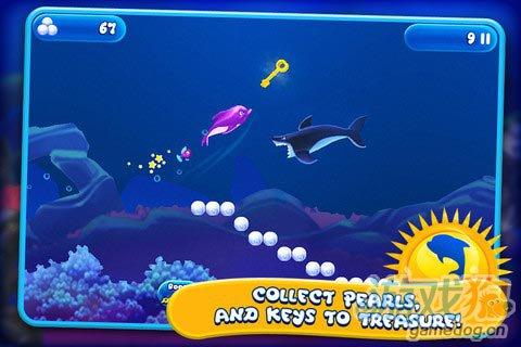 安卓益智休闲游戏评测:海豚莉莉 在大海中驰骋