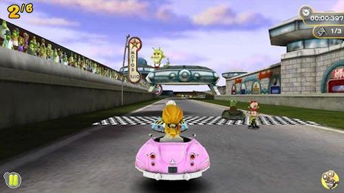 安卓复古竞速赛车游戏推荐:51星球赛车