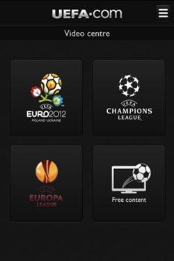 官方欧足联iPhone应用 实时播报2012欧锦赛