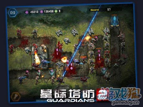 iPad策略游戏的暴力续作:星际塔防2高清版 v1.3