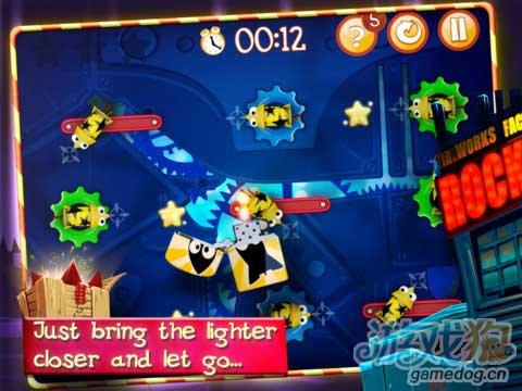 ipad街机游戏游戏:发射小火箭v1.0.4