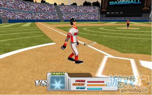 《指尖棒球》(Flick Baseball)游戏画面