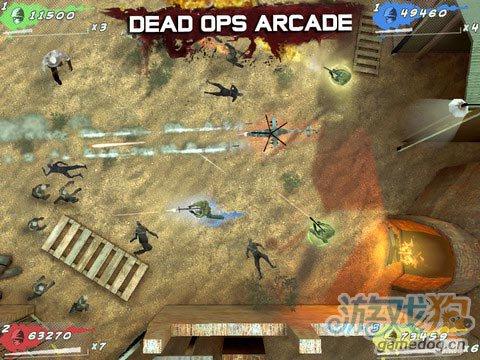 iOS射击类游戏 使命召唤:黑色行动僵尸v1.2.1更新