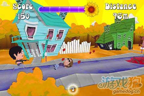 《弗雷迪·王:花之战》(Freddie Wong: Flower Warfare)游戏画面