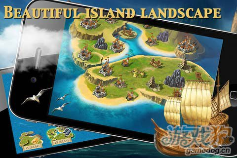 《海岛帝国豪华版》游戏画面