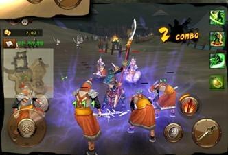 安卓最新游戏《三国志无双战》画面