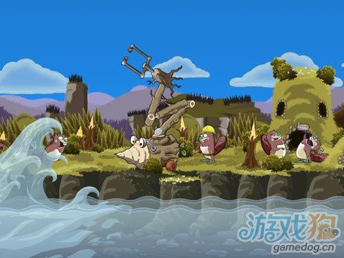iOS益智解谜游戏:Eager Beaver即将登场