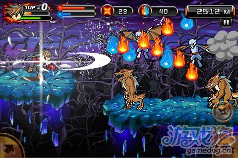 安卓动作游戏 魔界忍者2:使命新版更新