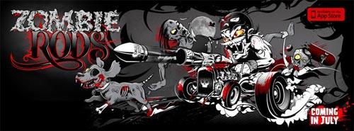 僵尸题材射击类游戏:Zombie Rods 7月将再次来袭