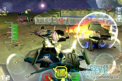 经典双摇杆射击游戏iMech Online即将发布