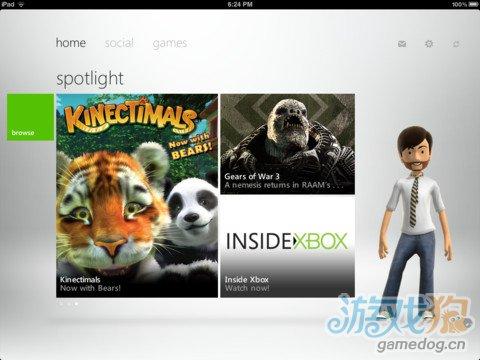My Xbox Live更新 iPad可以控制Xbox 360了