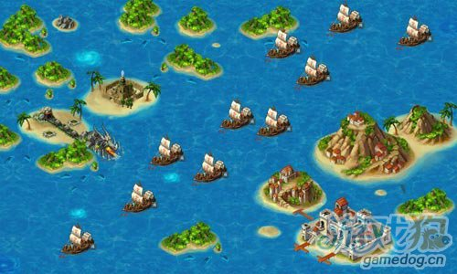 新版伟大航路《龙之国度》穿越海域体验无比刺激