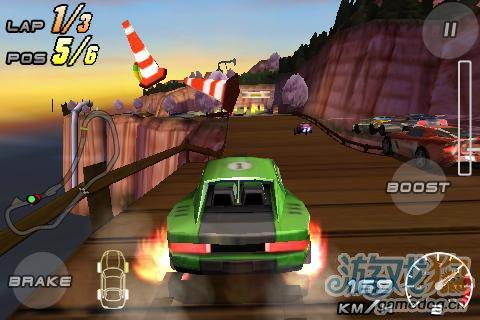 竞速游戏《雷霆赛车2》安卓高清版更新3