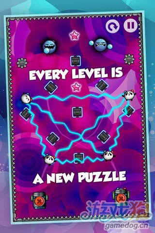 iOS益智休闲限免游戏推荐:纳米熊猫 可怕的实验室5