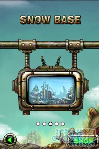 安卓经典射击游戏:小小机器人 对抗外星人的侵略5