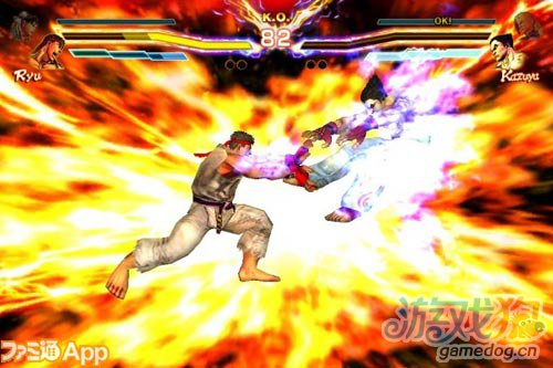街头霸王X铁拳 Street Fighter X Tekken iOS图赏1