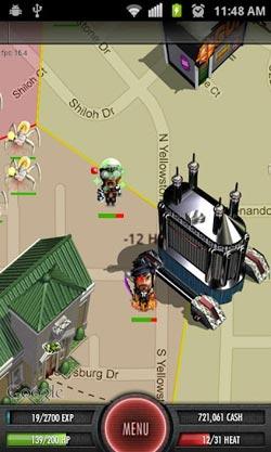 安卓犯罪游戏平行黑手党 真实地图定位4