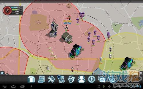 安卓犯罪游戏平行黑手党 真实地图定位6