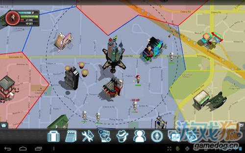 安卓犯罪游戏平行黑手党 真实地图定位7