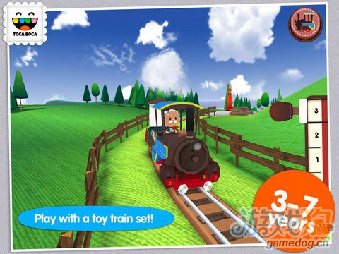 弹奏小火车 Toca Train:专为儿童开发1