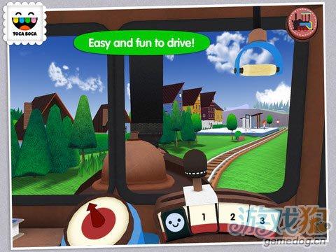 弹奏小火车 Toca Train:专为儿童开发2