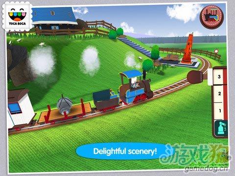 弹奏小火车 Toca Train:专为儿童开发5