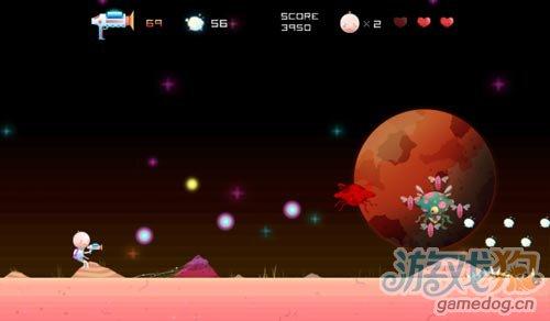 2D射击小游戏:DOT 即将原来发布 射杀低飞怪物2