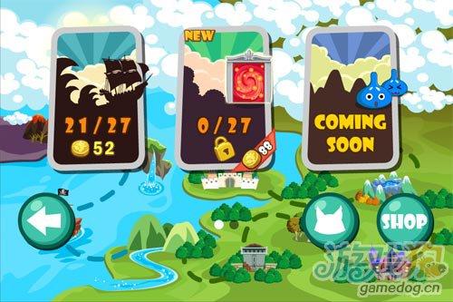 寻宝类冒险闯关游戏《海盗奇兵》iPhone试玩评测1