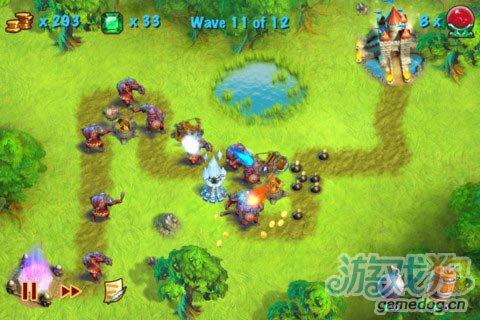 iOS游戏:猎魔之塔Towers N' Trolls HD图1
